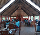 suasana restaurant alam tirta outbound