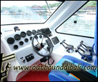fast boat control room