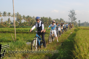village cycling