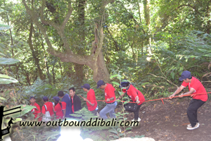 7 Aktivitas outbound di Bedugul